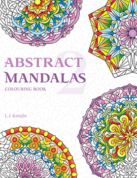 Abstract Mandalas 2 Coloring Book