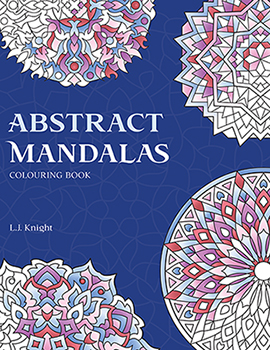 Abstract Mandalas Coloring Book