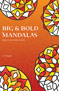 Big & Bold Mandalas Mini Colouring Book