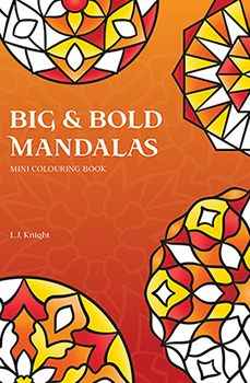 Big & BoldEasy Mandalas Mini Coloring Book