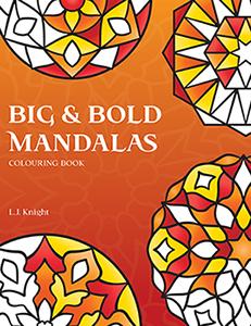 Big & Bold Mandalas Colouring Book
