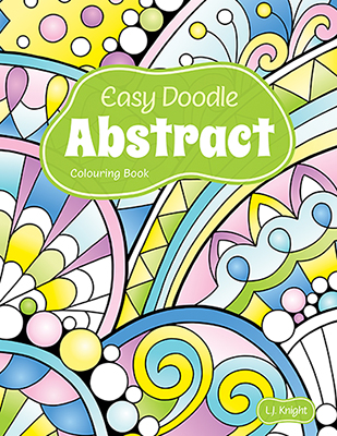 Easy Doodle Abstract Colouring Book