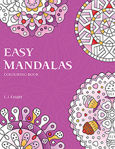 Easy Mandalas Colouring Book
