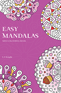 Easy Mandalas Colouring Mini Book