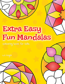Extra Easy Fun Mandalas Coloring Book
