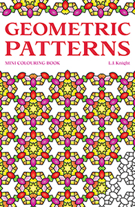 Geometric Patterns Mini Coloring Book