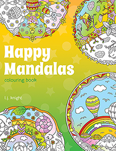 Happy Mandalas Colouring Book