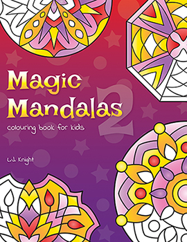Magic Mandalas 2 Coloring Book