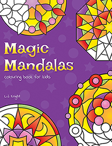 Magic Mandalas Colouring Book For Kids