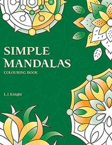 Simple Mandalas Colouring Book