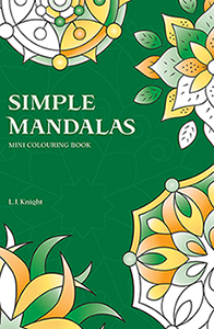 Simple Mandalas Mini Colouring Book