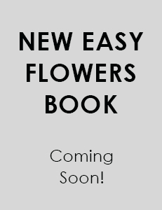 New easy flowers colouring book coming soon