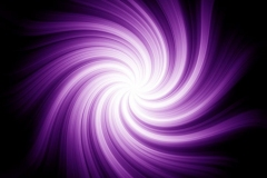 Purple and White Swirl Abstract