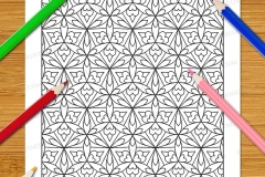 Geometric Patterns Colouring Book (Volume 2) - Preview