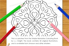 Simple Mandalas Colouring Book - Preview